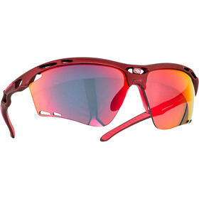 Rudy Project Propulse Glasses merlot matte/multilaser red